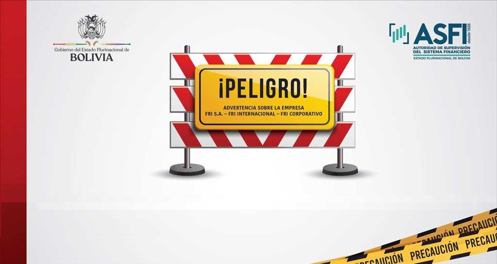 Advertencia sobre la Empresa FRI S.A.